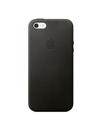 Чехол для iPhone Apple iPhone SE Leather Case Black